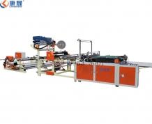 广州PEPO快递袋切割机 750型快递袋制袋机 小型高速一体化 大小可定制