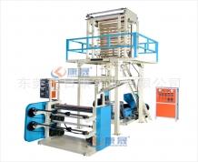 湖南45型单螺杆吹膜机 工业包装袋挤出机 小型易操作 广东厂家教技术