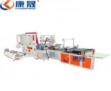 湖南750型快递袋制袋机 三通一达物流包装袋制袋机 多功能一体 可定制